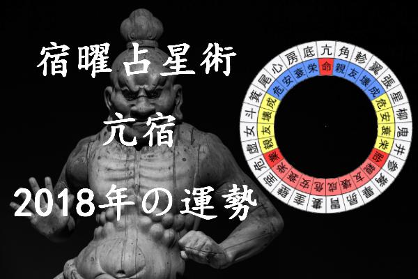 2018年 亢宿 運勢