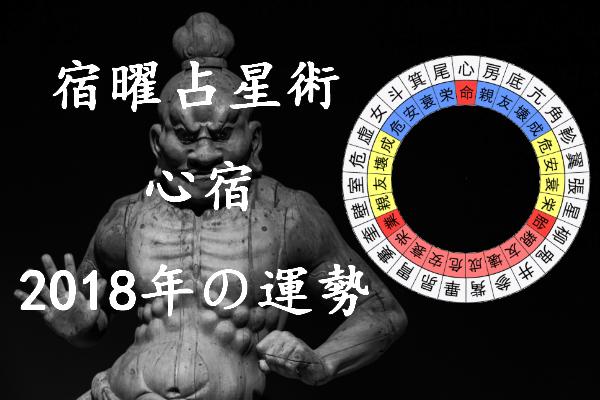 2018年 心宿 運勢