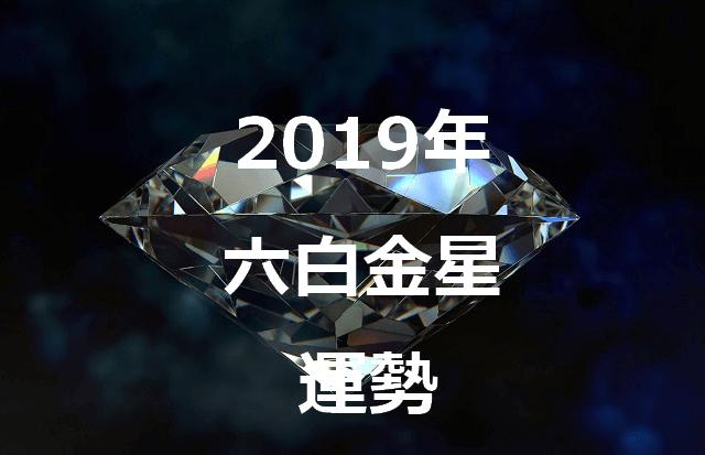 六白金星 2019年 運勢