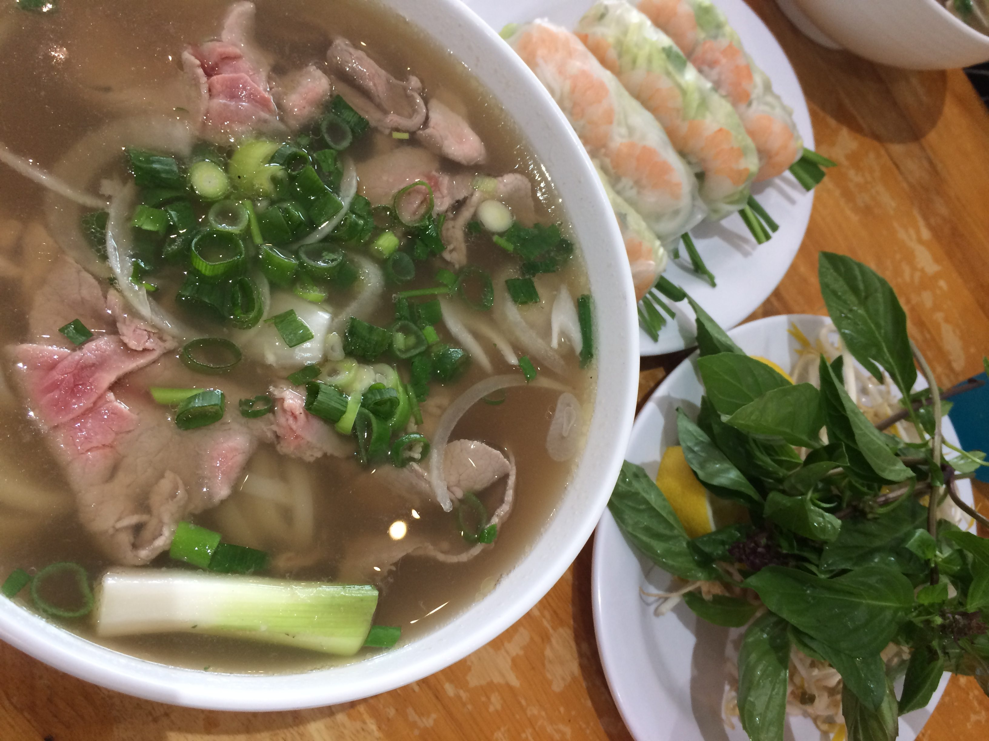 ヴェトナム料理の牛肉のフォー