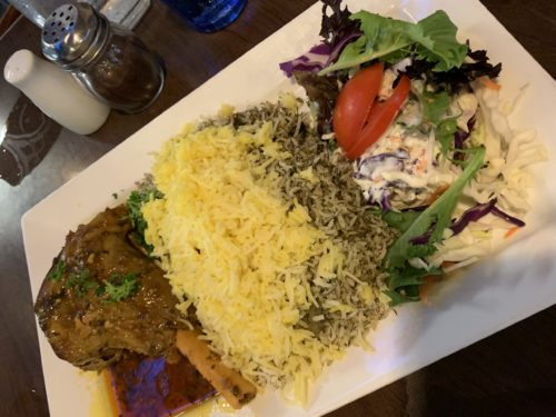 ペルシャ料理のラムの煮込み
