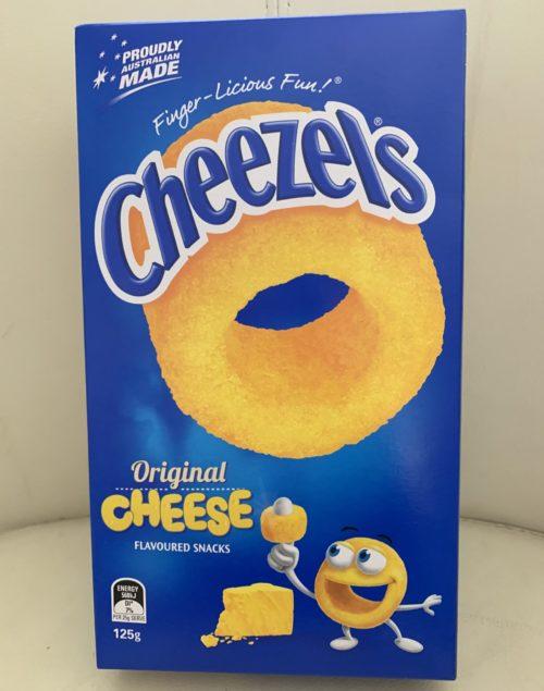 オーストラリアのスナック菓子チーズルズ