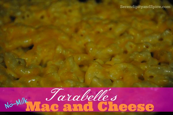 Tarabelle's Mac and Cheese Recipe– No Milk