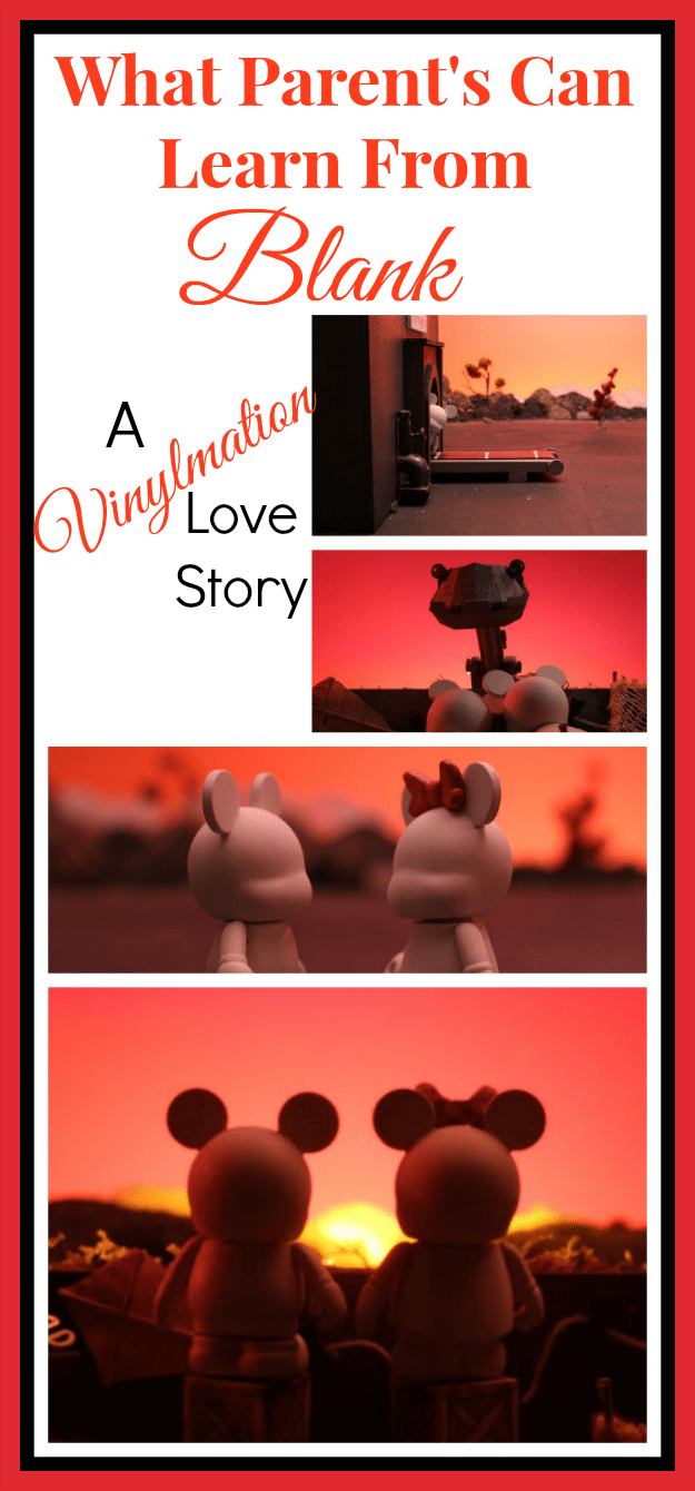 Blank A Vinylmation Love Story Film