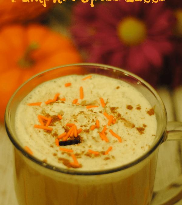 French Vanilla Pumpkin Spice Latte Recipe- National Coffee Day #CoffeeBuzz