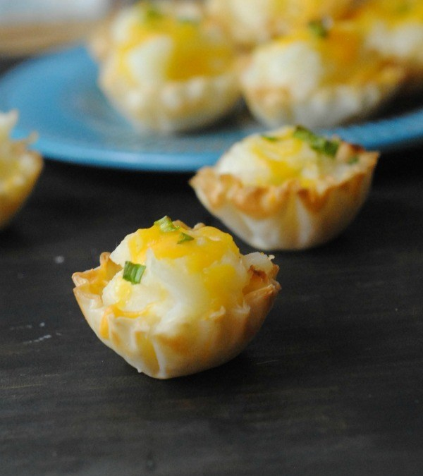 Phyllo Potato Bites Recipe
