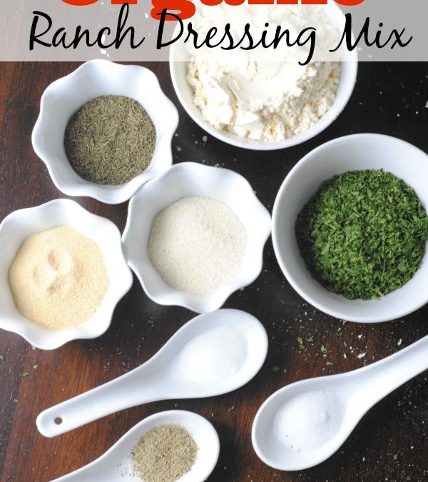 DIY Organic Ranch Dressing Mix Recipe