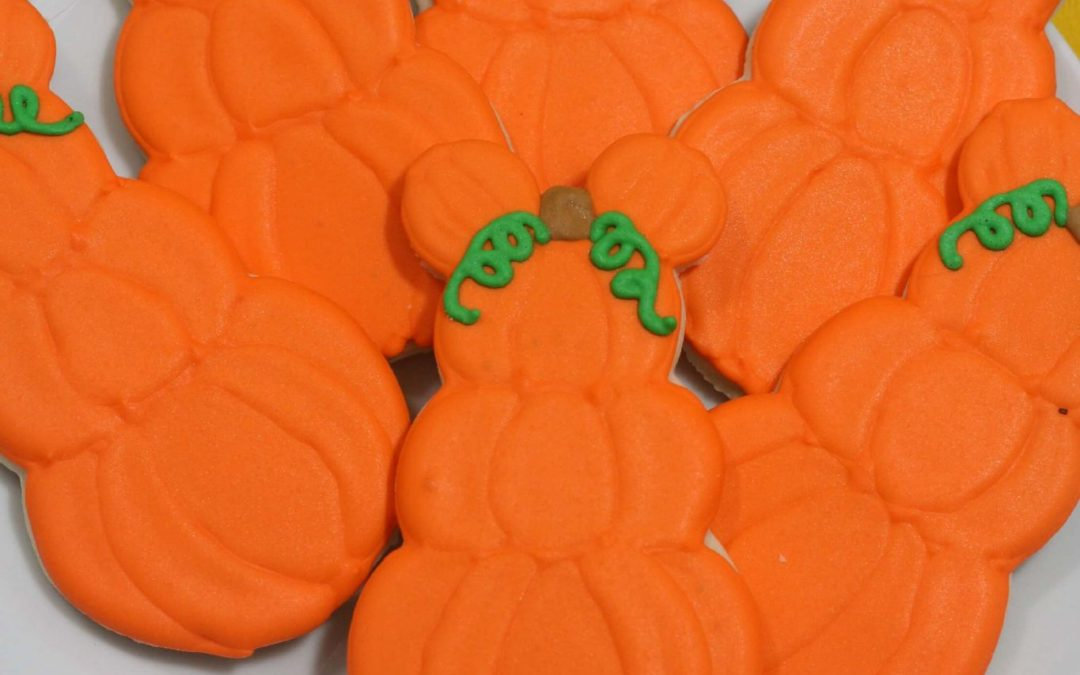Mickey Mouse Pumpkin Cookies Recipe