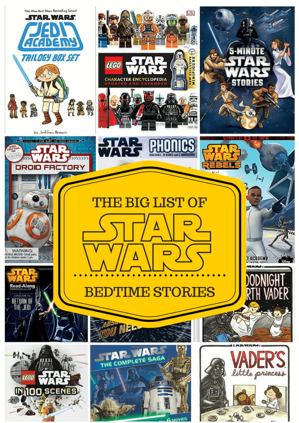 The BIG Collection of Star Wars Books