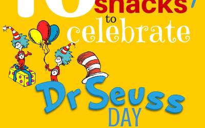 Dr Seuss Healthy Snacks for Preschoolers