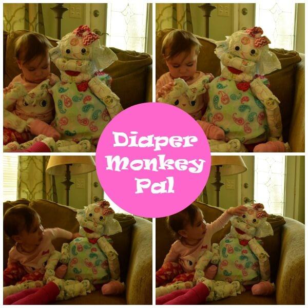 diaper monkey gift