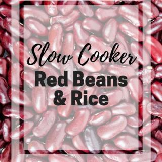 Slow Cooker Red Beans and Rice Recipe