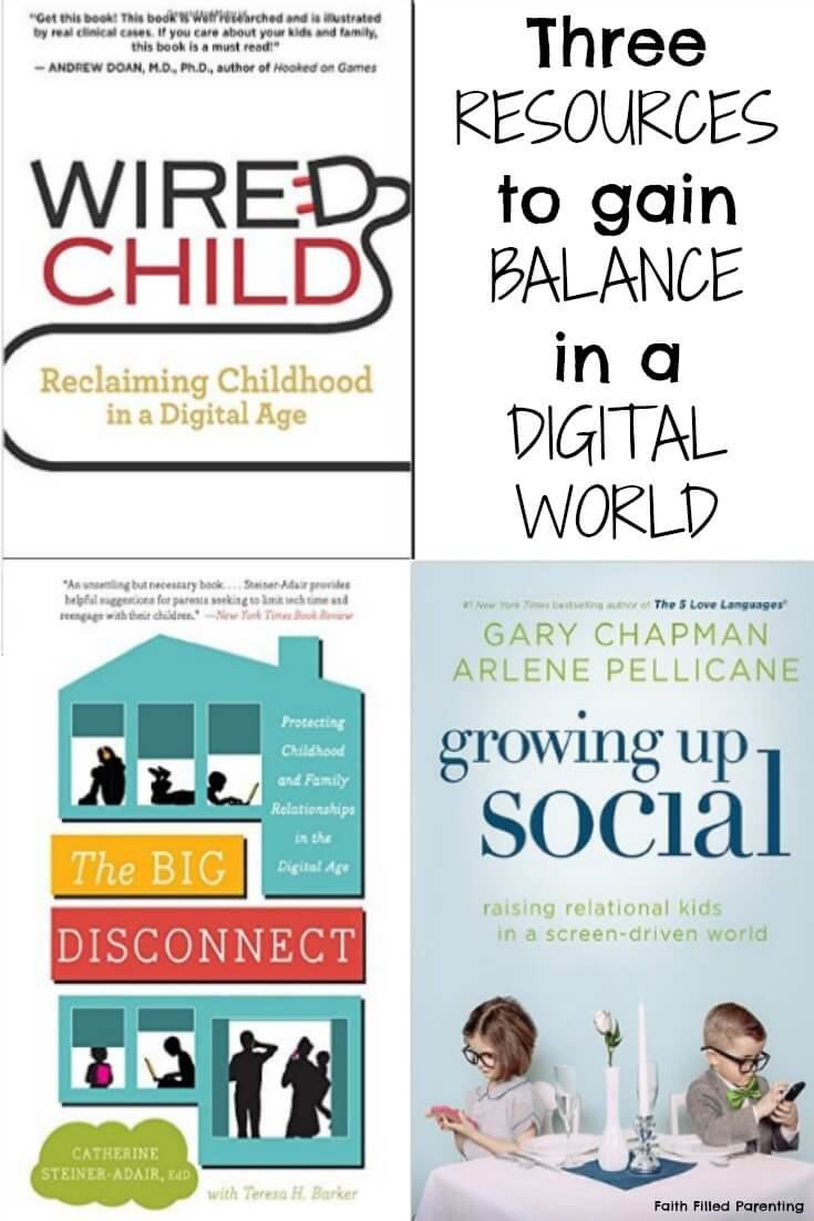 Three Resources to help parents navigate this digital world.