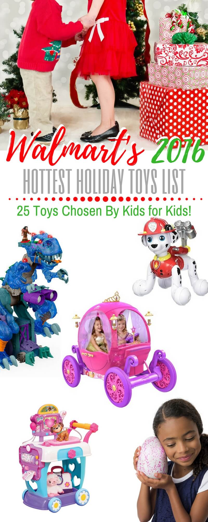 Walmart Toys For Christmas : Walmart s chosen by kids top holiday toys list