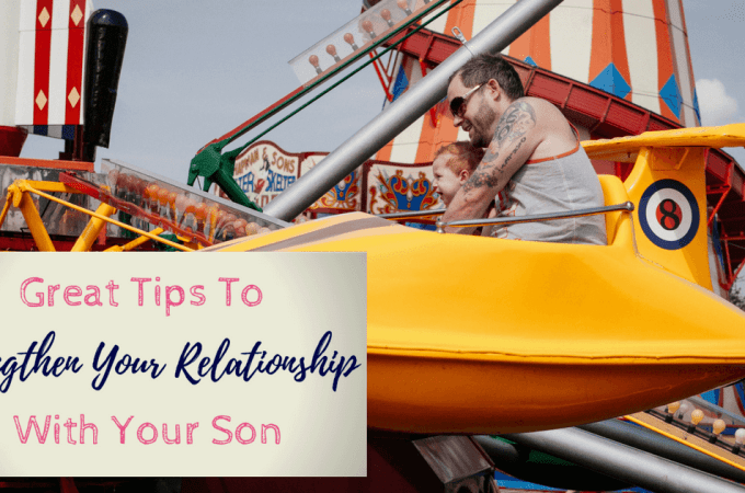 Great tips for raising sons