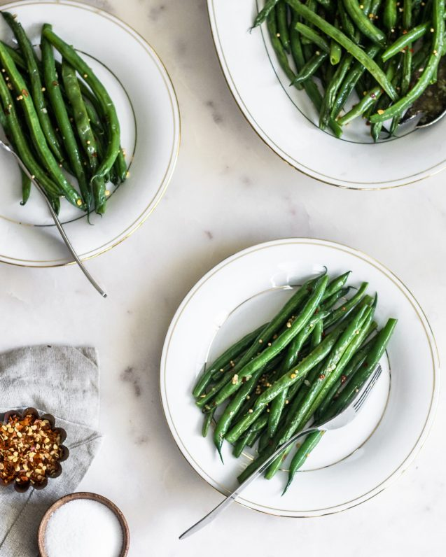 Guferati (Spicy Indian Green Beans) | Serendipity by Sara Lynn