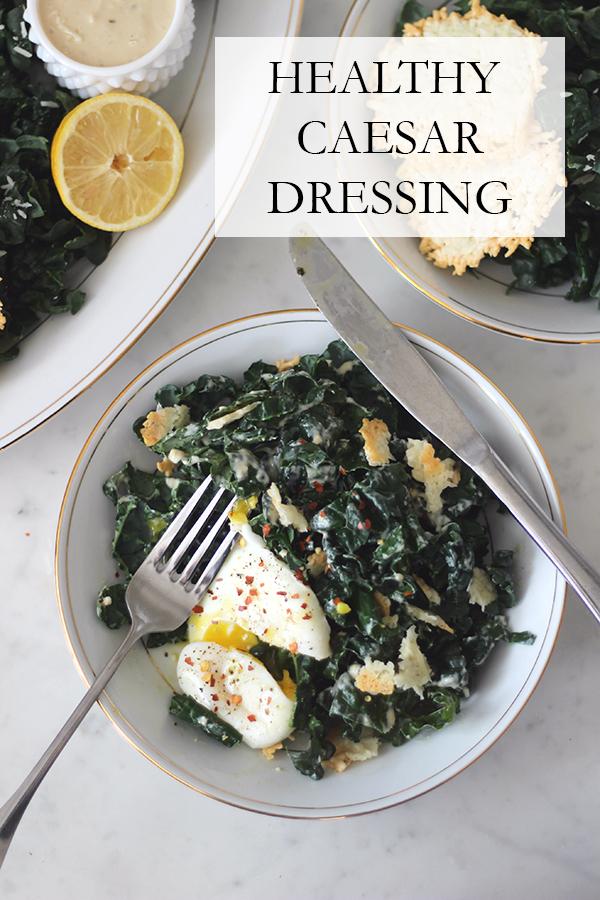 Healthy Caesar Dressing