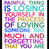 Losing You in Your Relationship