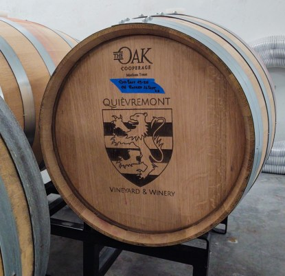 The Oak Cooperage Barrel
