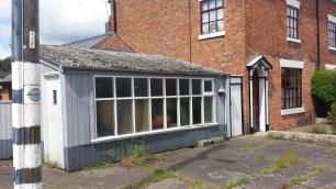 The telephone exchange and Post Office next door.