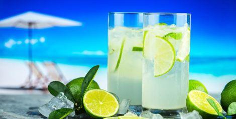 bebidas refrescantes verano