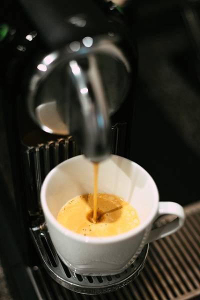 Cafetera. Nespresso