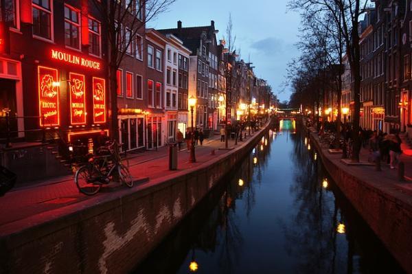 Barrio Rojo - Ámsterdam