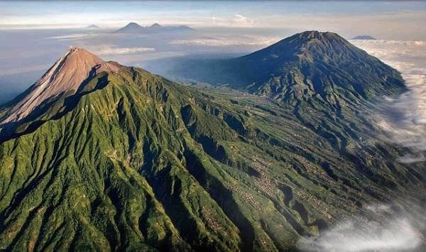 Volcanes activos- Monte Merapi