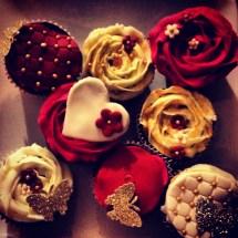 Valentine Cupcakes I made for Blue ;-)