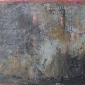 Untitled — oil pastel and charcoal on paper — private collection