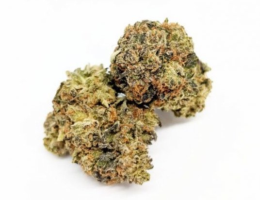 Purple Candy Kush flowers Serene Farms Online Dispensary