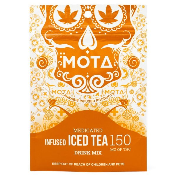 MOTA ICED TEA MIX 150 mg Serene Farms Online Dispensary