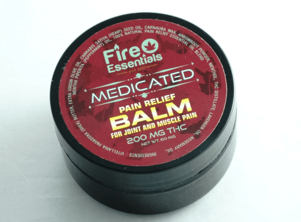 Fire Essentials Pain Balm Serene Farms Online Dispensay