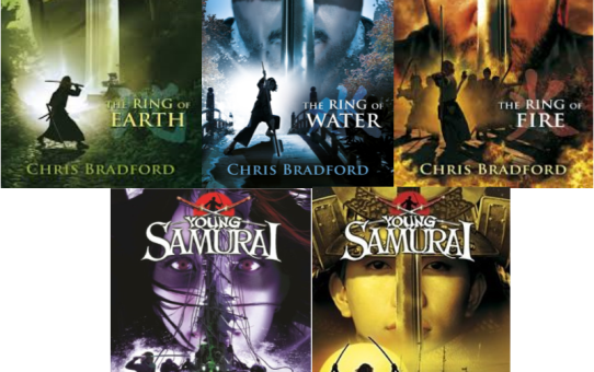 Young Samurai: The Ring of . . . Earth ... Water...Fire...Wind...Sky   By - Chris Bradford