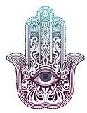 hamsa evil eye serene healing reiki studio Jewett City CT