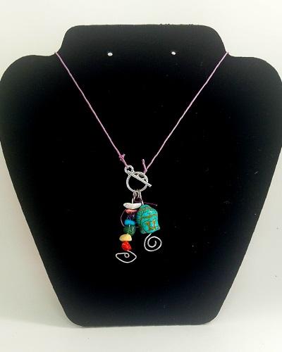 Buddha Lariat Necklace