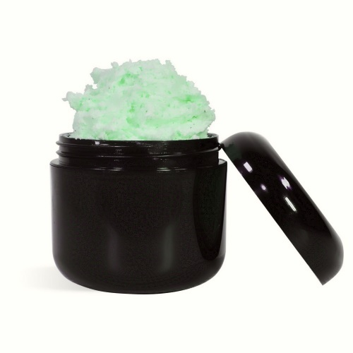coconut mint whipped soap