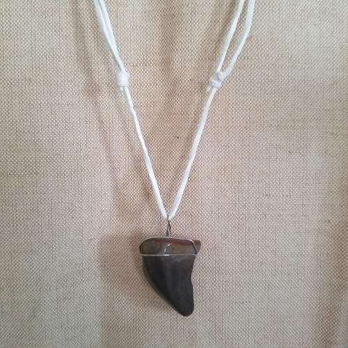 mens desert jasper necklace