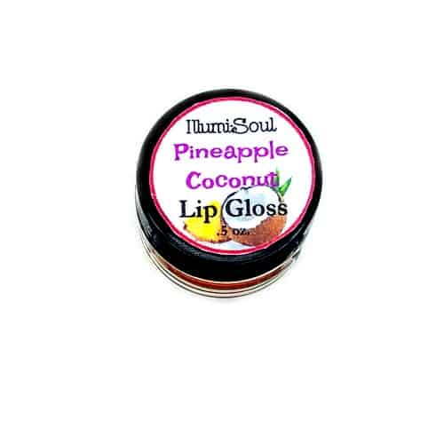 pineapple coconut lip gloss