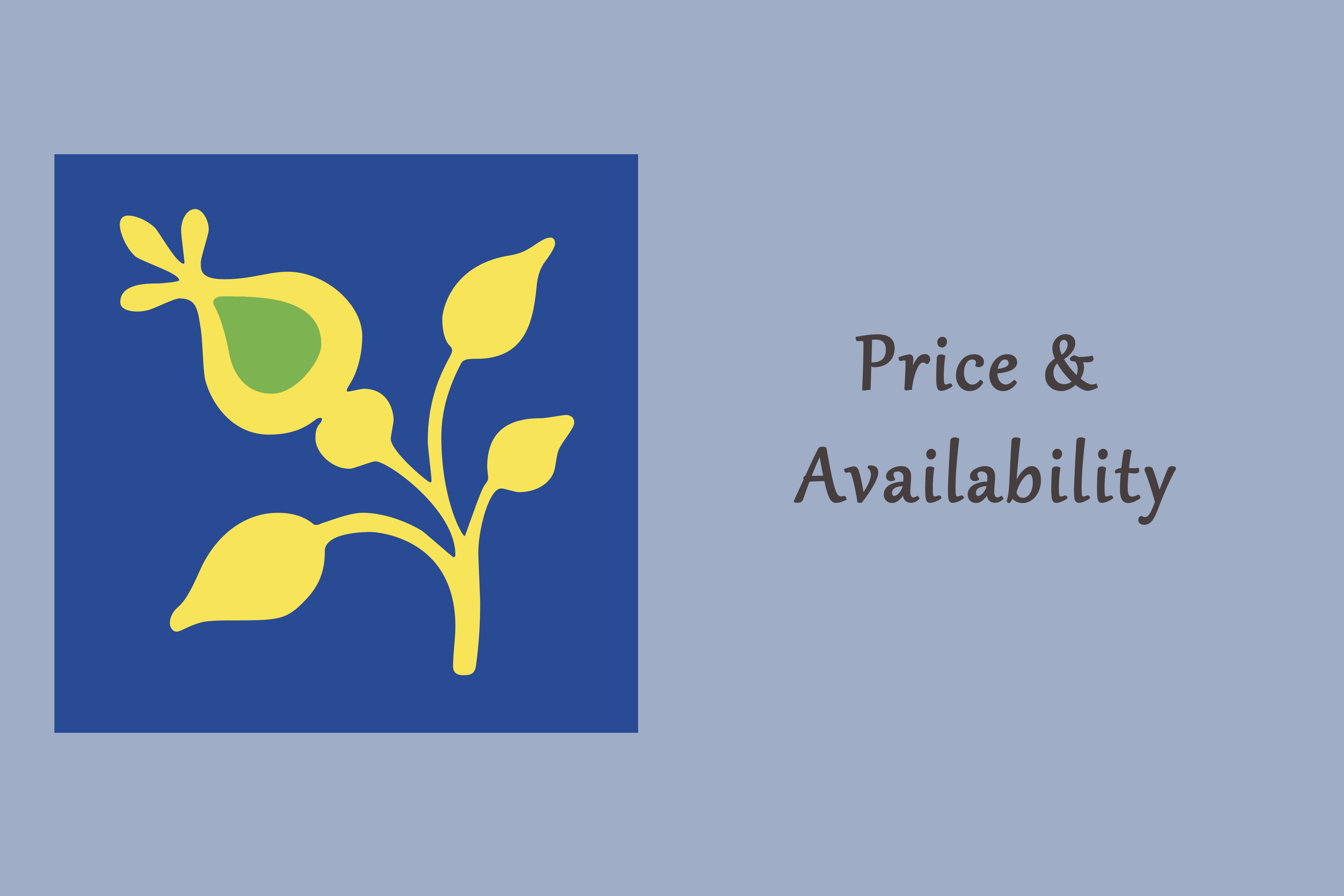 Price & Availability