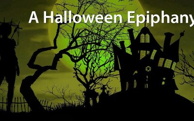 A Halloween Epiphany:  It wasn't the candy. It was the costumes!