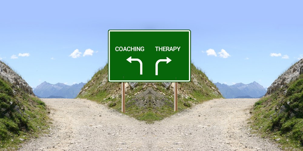 coaching vs therapy
