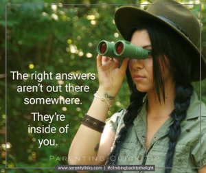 answers are inside of you