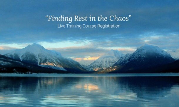 Finding Rest in Chaos e course Serenity Links Coaching