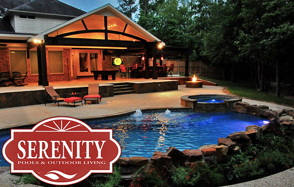 serenitypoolshouston | Building beautiful outdoor living ... on Outdoor Kitchen By Pool id=69317