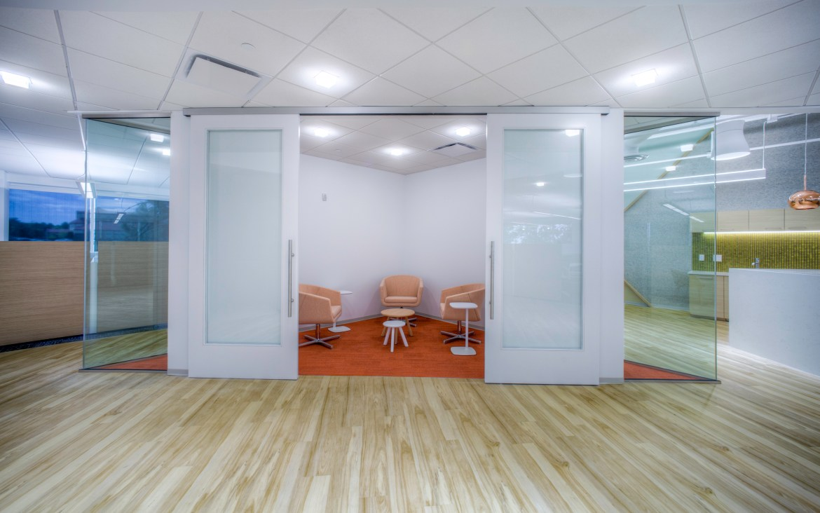 sliding-barn-door-systems-commercial-office-colorado springs, co_Serenity Sliding Door Systems