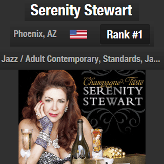 Serenity Stewart #1 Phoenix Jazz Artist on ReverbNation