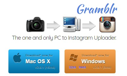 Gramblr-Sends Your Pictures From Your Computer to Instagram