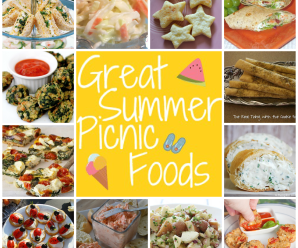 Great Summer Picnic Foods