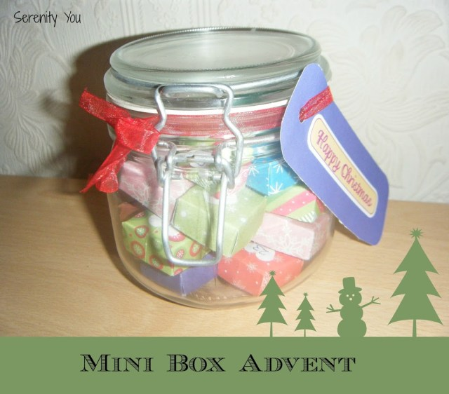 Mini Box Advent Calendar {Tutorial}